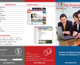 Top Business Tri Fold Brochure
